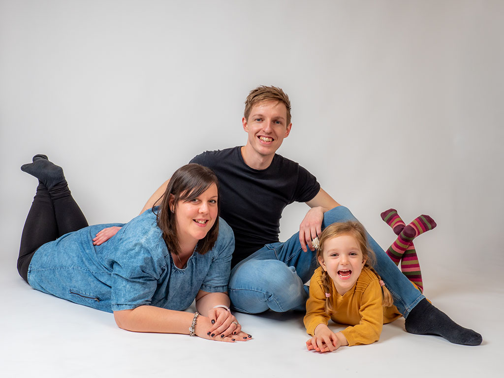 trebor photography - relaxed family portrait by award winning Braintree photographer