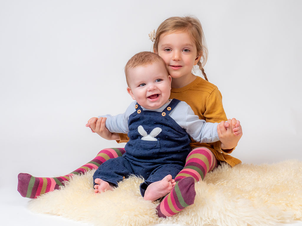 trebor photography sibling family portraits Braintree studio Essex